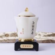 琉璃茶叶罐 摆件 高档创意商务礼品 家居摆件 生日礼品实用可定制