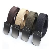 时尚帆布腰带定制 复古皮带 战术编织休闲腰带护外用品加印LOGO