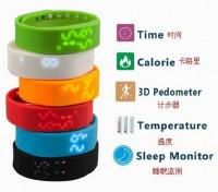 运动健康计步W2智能手环USB腕带智能穿戴运动装备可定制LOGO