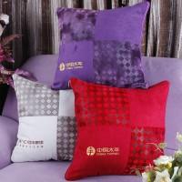 午休被沙发抱枕被定做订做靠背靠垫定制抱枕被子两用绣花logo印字