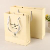 白卡纸通用购物手提纸袋  礼品手提纸袋  厂家订做