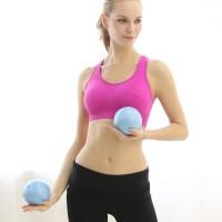 哑铃健身球女士软哑铃家用健身哑铃瑜伽球1kg*2