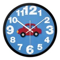 摩门卡通挂钟儿童房卧室客厅可爱静音创意现代时钟石英钟表挂表