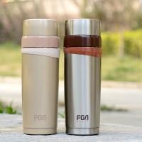 富光 真空不锈钢保温杯 FZ1019-350 男士健康水杯 女士杯子