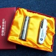 户外刀具随身小刀 平面11开小刀+礼品电筒精美家居军刀套装