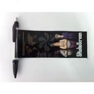 2015热销 厂家直销 订制拉画笔圆珠笔A291(中性笔)印刷 礼品批发