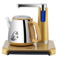 自动上水壶电热水壶套装 吸加抽烧水304泡茶煮茶器茶具茶炉壶包邮