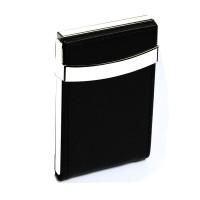 薄名片夹男女士商务时尚名片盒不锈钢金属创意礼品赠品可定制LOGO