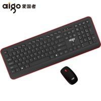 aigo/爱国者WQ201键鼠套装无线键盘鼠标套装游戏超薄静音家用