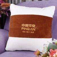 定做多功能两用抱枕被定制汽车靠垫被刺绣LOGO印刷广告字礼品批发