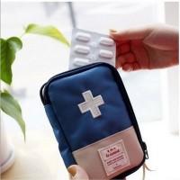 广小礼品定制logo二维码旅行便携医药收纳包急救包大容量收纳包