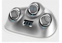 定制            车载点烟器充电器双核USB一分三点烟器插座备能巡洋舰礼品印logo