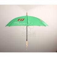雨伞厂家直供促销长柄雨伞 广告伞定制印LOGO直杆伞 银行礼品伞