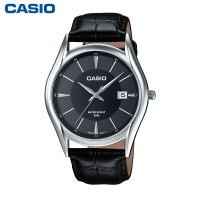 卡西欧MTH-1052L-1经典休闲男士石英商务手表时尚真皮表带