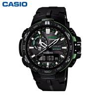 卡西欧PRW-6000Y-1APR登山运动多功能户外手表 太阳能电波表
