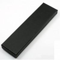 金属书签黑色礼盒 钢笔礼盒包装盒 长方形礼盒 印制LOGO