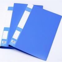 特惠A4办公文件夹 塑料强力夹资料夹 办公文具批发印字定制logo