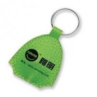 定制皮灯钥匙扣/促销批发LED钥匙扣/广告皮革钥匙圈/可印LOGO