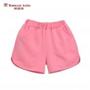 探路者2016夏季新款户外童装女童针织柔软松紧腰短裤