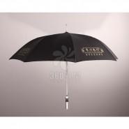 订做定制高档房地产直杆广告雨伞 礼品伞