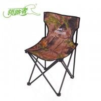 领路者户外迷彩椅 休闲折叠椅沙滩垂钓折叠凳子防水耐磨