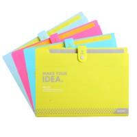 得力票据分类风琴包资料包A4文件包 文件夹学生试卷袋多层收纳包
