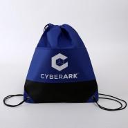 印刷无纺布束绳袋优质旅行便携包装可定制热转印