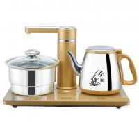 三合一自动加水抽水烧水煮水自动上水壶电热水壶套装茶艺炉器包邮