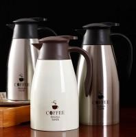 正品华蓝仕304不锈钢保温壶大容量1500ML2000ML办公室保温瓶杯壶