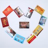 三层10张热卖优质包装折叠双层可定制图案LOGO抽取式纸巾