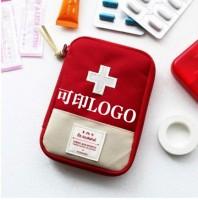 广告包定制印刷家用便携急救包药包小收纳包医药急救包可印logo