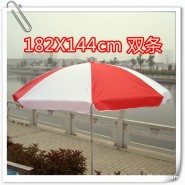 批发直径1.82米双条单层大号广告太阳伞 遮阳防雨户外伞 定做印字