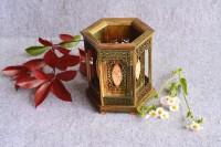 红酸枝绿檀红木笔筒摆设创意檀木雕刻文房四宝实木办公礼品加大号