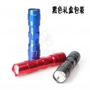 厂家直销防水LED小电筒5号1节迷你强光小手电 公司礼品LOGO定制