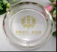 菠萝面水晶烟灰缸 水晶烟缸菠萝面 会议商务活动礼品