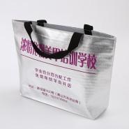 厂家提供高档无纺布覆膜袋广告宣传LOGO袋子无纺布袋