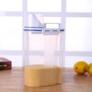 家用五谷杂粮小米桶 米桶塑料 储米器 塑料环保可计量密封米箱