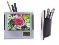 相框笔筒万年历 电子笔筒闹钟 商务礼品广告礼品 定制可LOGO
