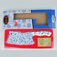 厨房刀具用品套装 不锈钢刀具套装 青花花式单把套装