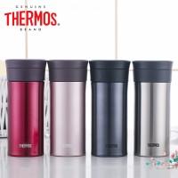 膳魔师/Thermos 高真空不锈钢保温杯 自带茶滤办公杯TCMA-400