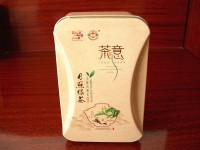 定制 绿茶包装铁盒马口铁罐金属盒茶叶桶莫莎铁盒定制LOGO专版印刷