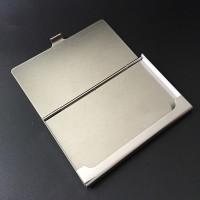 高档男女士名片夹商务大容量 不锈钢名片盒金属创意 可定制LOGO