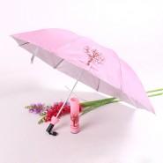 供应时尚精品酒瓶伞 花瓶伞 礼品伞 外贸折叠伞批发订做