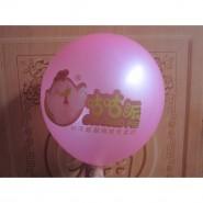 定制10寸1.8克广告气球 促销礼品气球 结婚庆典气球 印字LOGO