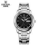 依波男士机械表潮流时尚手表防水钨钢表圈男表钢带1011