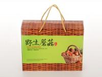 野生蘑菇箱子 年货礼盒干货菌类包装箱批发定做东北特产箱