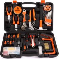 科麦斯手动组合家用工具套装 五金工具组套 德国电工维修工具箱组