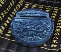 浮雕名片座公司商务礼品定制中国北京特色礼物送老外长城