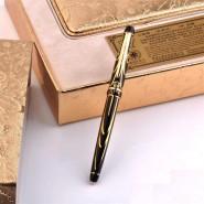公爵正品金皇冠高档商务礼品笔金属签字笔 宝珠笔 品牌笔