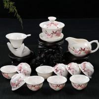茶具可印字印logo定制茶杯一套也能印
